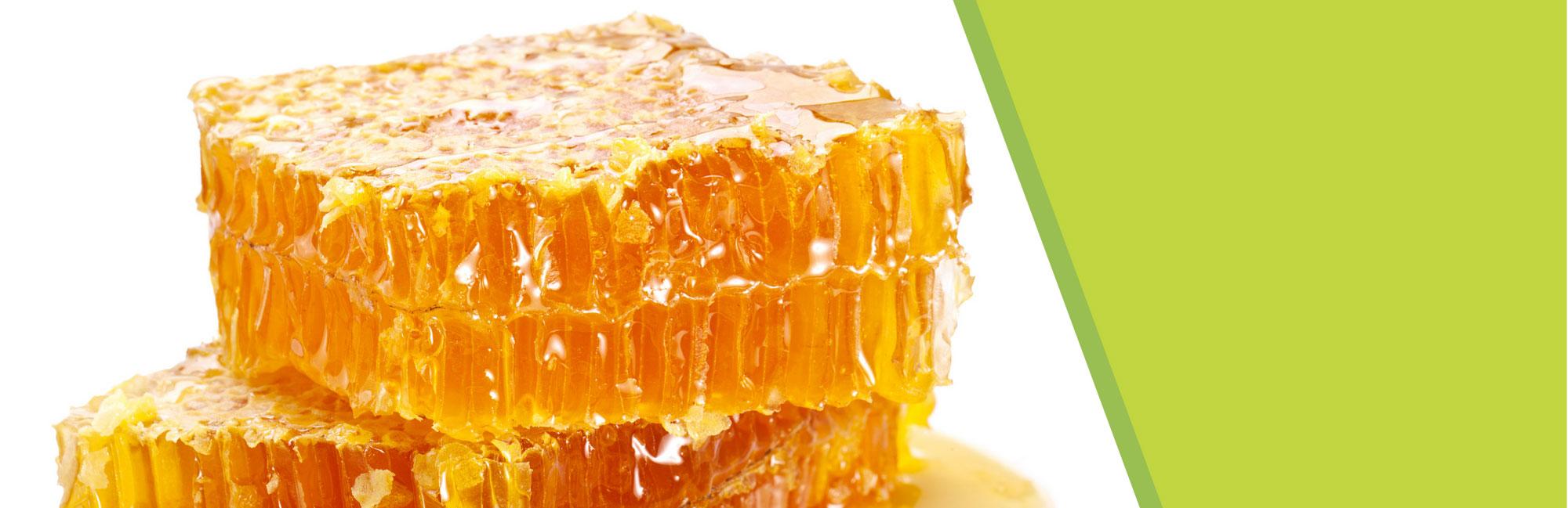 Miel en sections